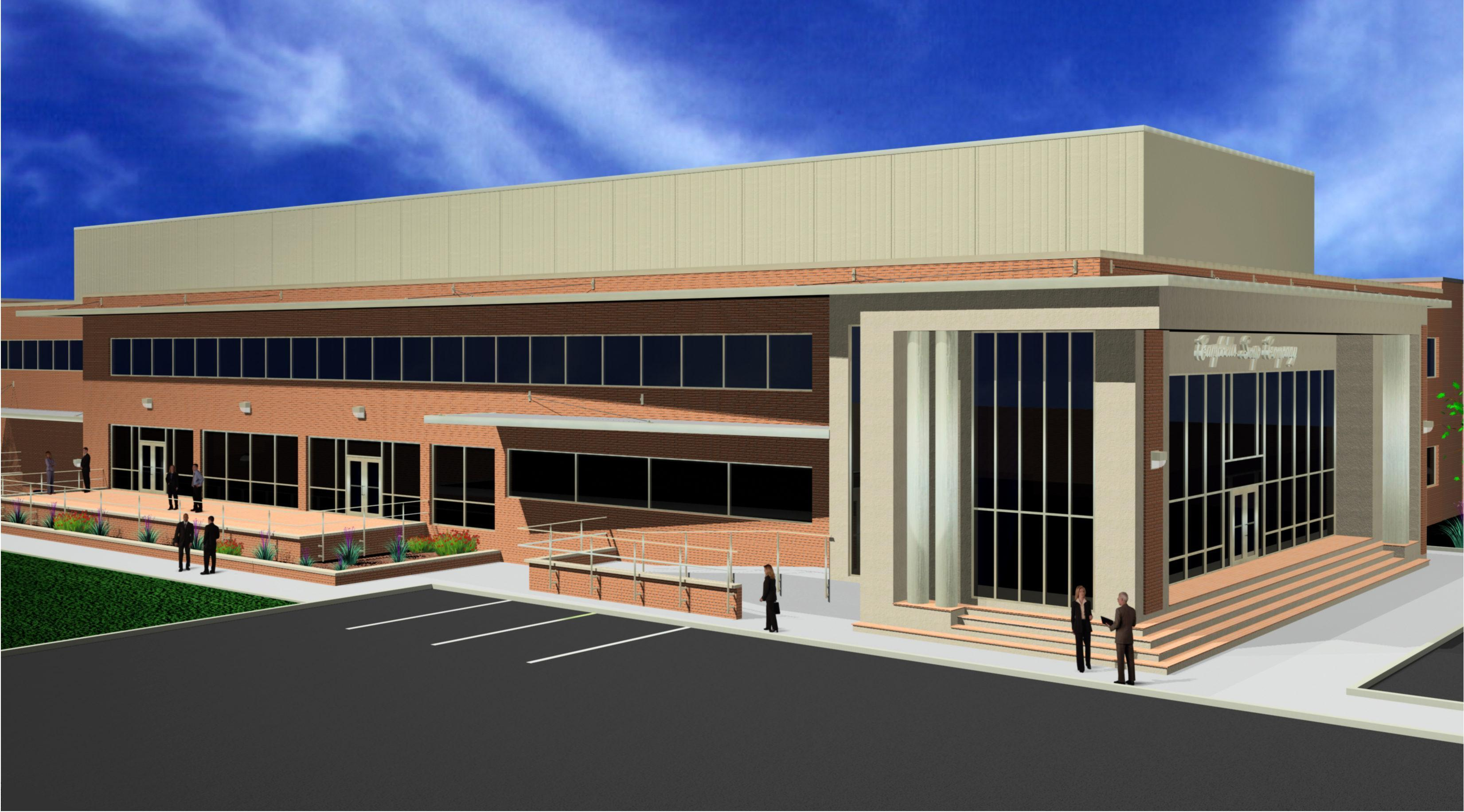 3d rendering of building exterior