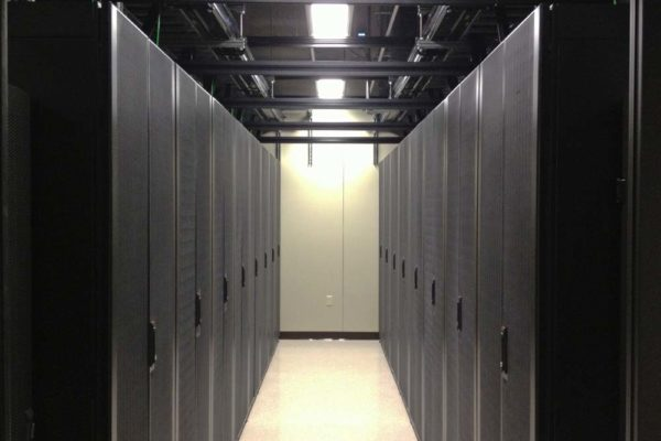 Data center aisles