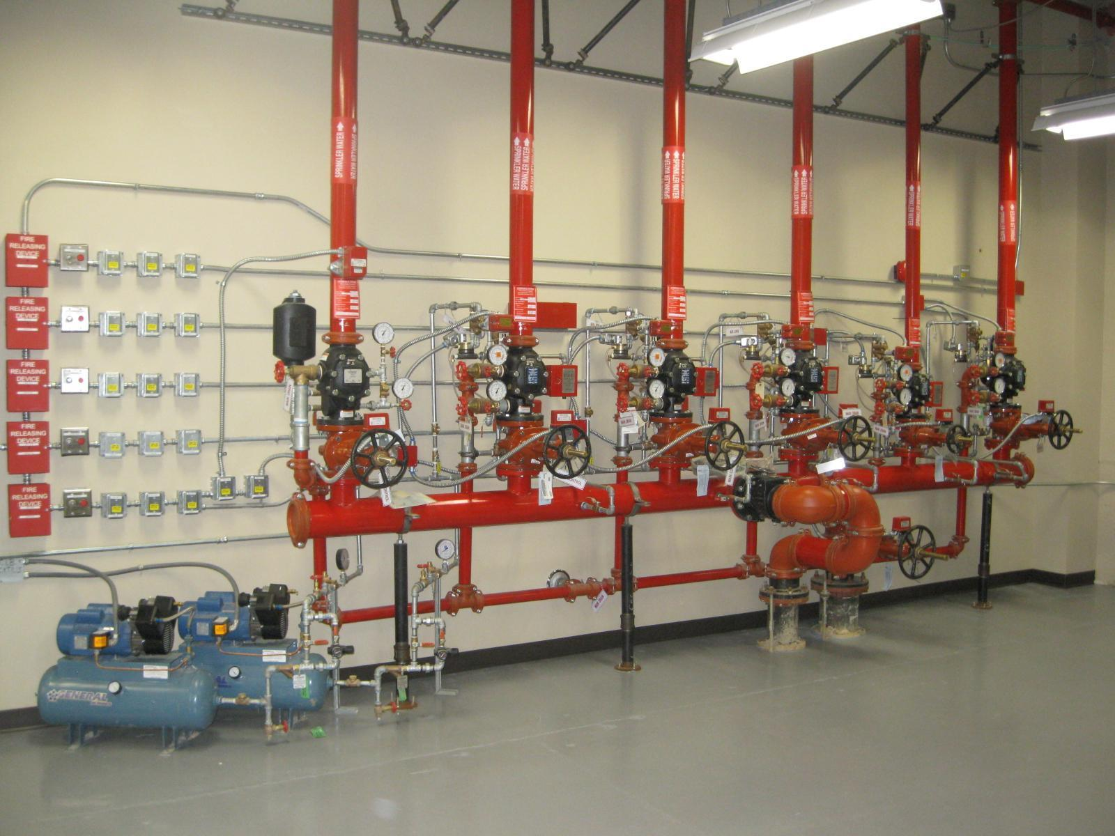 Fire protection mechanical equipment