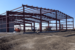 Structural engineering building frame