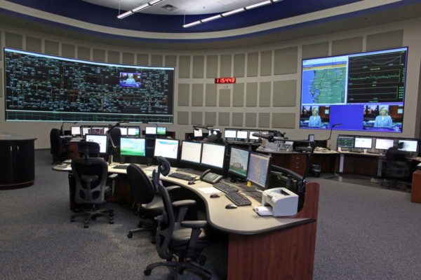 Grid operations control room