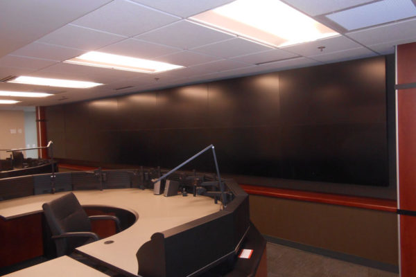 LCD flat panel video wall