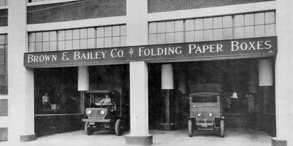 Brown Bailey Paper Boxes renovation from 1920s