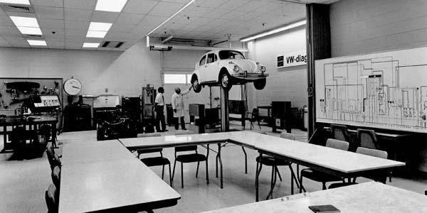 Volkswagen Atlantic facility 1970